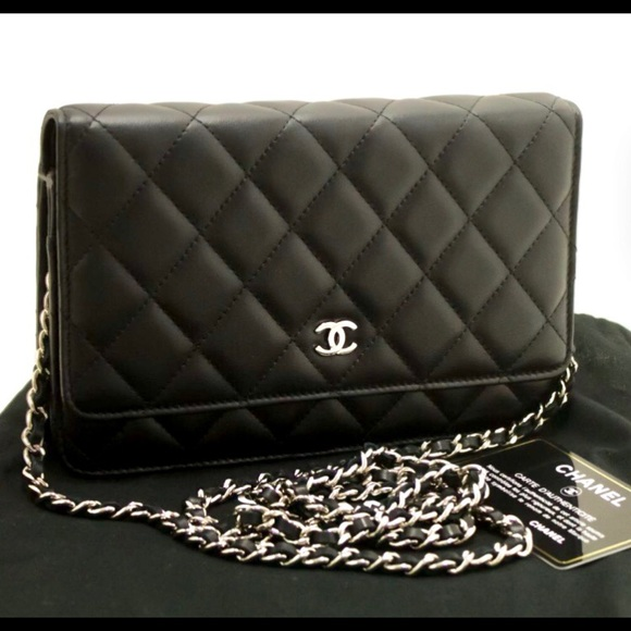 404e95302e7 CHANEL Bags   Sold Out Authentic Black Wallet Clutch   Poshmark